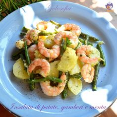 Here you can find a collection of Italian food to date to eat Light Recipes, Wine Recipes, Salad Recipes, Cooking Recipes, Healthy Recipe Videos, Healthy Recipes, Mint Salad, Cold Dishes, Avocado
