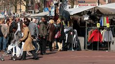 The Dappermarkt is a local neighbourhood market located in Amsterdam Oost – one of the city's most colourful and culturally diverse districts. Amsterdam Market, I Amsterdam, Amsterdam Itinerary, The Neighbourhood, Street View, Marketing, City, Fabric Shoes, Fresh