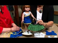 Doll Fashion Studio (Part 2 of 2) - SEWING WITH NANCY - YouTube