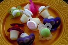 "Make ""Mother's milk pacifiers"" to soothe teething pain and give your baby sustenance at the same time."