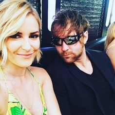 Renee Young & Dean Ambrose on his Birthday - 7th December 2016