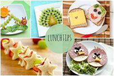 Vandaag geven we jullie een aantal leuke en lekkere tips voor een gezonde lunch voor de kids...