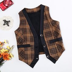 http://babyclothes.fashiongarments.biz/  Kids Boys Vests Brushed Fleece Waistcoats British Plaid Baby Boys Winter Vest Fashion Children Vest Coats  J0177, http://babyclothes.fashiongarments.biz/products/kids-boys-vests-brushed-fleece-waistcoats-british-plaid-baby-boys-winter-vest-fashion-children-vest-coats-j0177/,    MATERIAL:  cotton,villus blends(high quality and good craft) SIZE:   5 sizes for 2~6 years old COLORS:  coffee yellow, deep ...,    MATERIAL:  cotton,villus…
