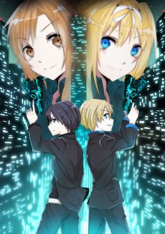 Kirito fights for Asuna, his best friend Eugeo fights for Alice