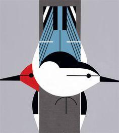 Upside Downside by Charley Harper