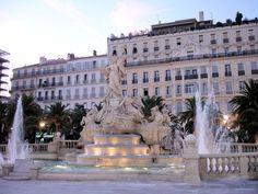 Sat there many times enjoying a drink. Place de la Liberté ~ Toulon