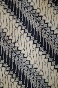 Kain panjang (long cloth used as lower body wrapper) Java. #textile #pattern