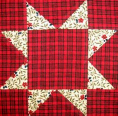 Starwood Quilter: Evening Star Quilt Block