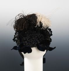 Evening Hat  c.1888    (Back Of Hat)  Metropolitan Museum Of Art