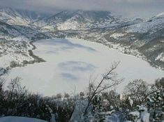 Lake of Scanno, Italy.  Heart shaped lake. This is not far from our home.