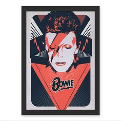 Poster David Bowie Aladdin Sane - AntiMonotonia Store
