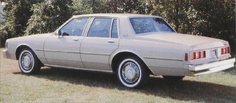 1981 Chevrolet Impala. I have a project car just like it.