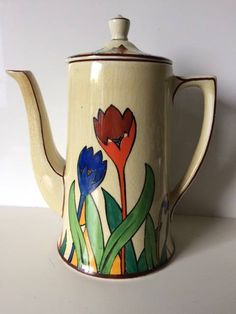 T.G.Green 'Crocus Ware' Coffee Pot