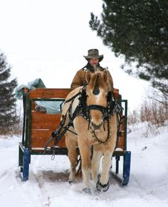 A One Horse Open Sleigh would be fun for a winter wedding I Love Snow, I Love Winter, Winter Fun, Winter Christmas, Country Christmas, Snow Scenes, Winter Scenes, Dashing Through The Snow, Winter Magic
