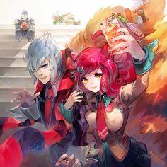 fumoe: Fan art League of Legends