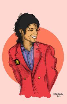 Bad Era MJ by MichiieJackson on DeviantArt Michael Jackson Drawings, Michael Jackson Wallpaper, Michael Art, Michael Jackson Pics, Michael Jackson Cartoon, Royal Art, Jackson Family, Jackson Bad, King Of Music