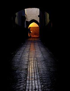 Medina entrance . Rabat Morocco