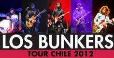 Los Bunkers Tour Chile 2012