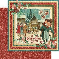 "*PRE-ORDER* Graphic 45 - A Christmas Carol Collection - 12""x12"" cardstock - Christmas Carol"