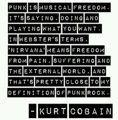 punk quotes - Google Search