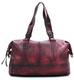 wardow.com - Tasche von FredsBruder, Blossom Shopper Leder berry 41 cm