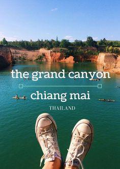 Guide to the Grand Canyon (Hang Dong Canyon) Chiang Mai, Thailand (Map, Address…