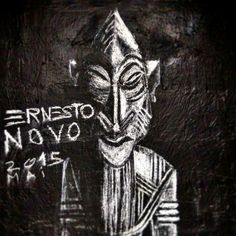 Ernesto novo - street art paris 20 - rue lesage aout 2015