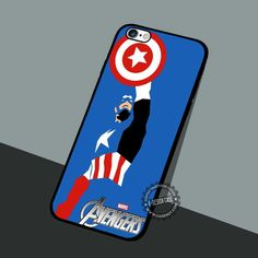 Captain America Avengers - iPhone 7 6 5 SE Cases & Covers #movie #superheroes
