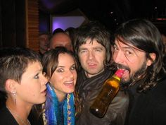 Pink, Juliette Lewis, Noel Gallagher & Dave Grohl
