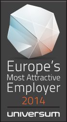 Europe's Most Attractive Employers 2014