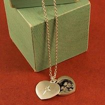 Custom sympathy gifts memorial grief gifts that you design diamond heart locket a great idea for valentines solutioingenieria Choice Image
