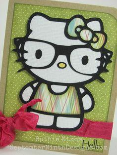 Many free Hello Kitty Silhouette studio files!