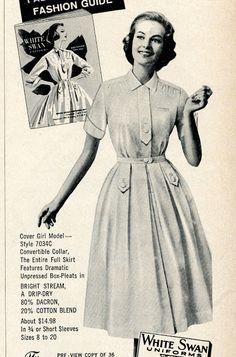 Bobby Pin Blog: Vintage Beautician Uniforms and Smocks