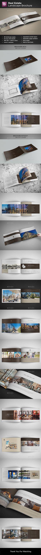 Real Estate Landscape Brochure Template InDesign INDD