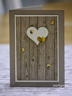 stampin with beemybear: Valentinskarte oder Hochzeitseinladung?