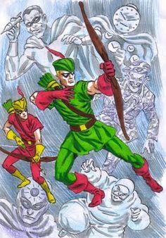 Green Arrow & Speedy