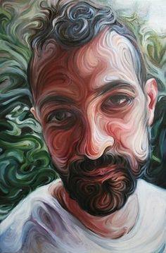 """Saatchi Art Artist Nikos Gyftakis; Painting, """"Yiannis"""" #art"""