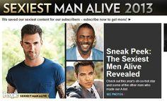 Revista «People» elege os homens mais sexys de 2013 – Propagandista Social