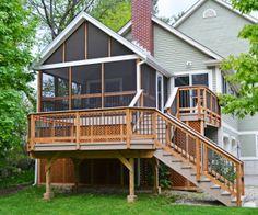 Gable Porch, converted