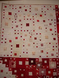 """""""Composition II"""" by Shoko Sakai, Japan - Gold Prize Winner Traditional Quilts Category 10th Quilt Nihon - exhibited at 16th European Patchwork Meeting 2010 Val d'Argent Alsace"""