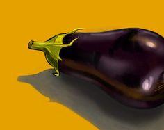 Popular items for vegetable art on Etsy