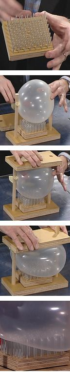 Bed of Nails - Forces and Motion. This would be an amazing experiment!