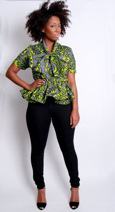 ~African Prints, African women dresses, African fashion styles, African…