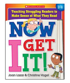 Take a look at this Now I Get It! Paperback on zulily today!