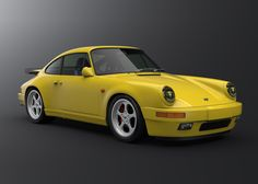 Porsche 911 Turbo RUF 3D Model available on Luxxlabs, the leading provider of digital 3D models for visualization, films, television, and games