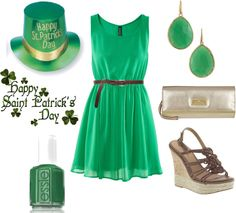 """St. Patties Day!"" by sbigg11 on Polyvore"