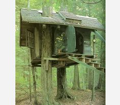 Tree Houses.  on http://www.thereclaimedwoodstore.com/#!reclaimed-wood-blog/co7l/tree-houses--
