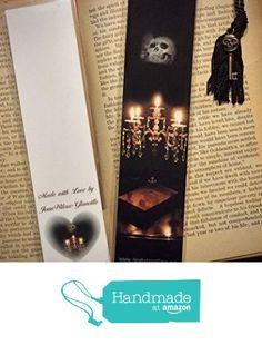 Crystal Candelabra Candles Skull Gothic Scary Spooky Photo Halloween Bookmark w/ Skull Skeleton Key Fine Art Photography Photo Laminated Handmade Bookmark from JWPhotography Gallery https://www.amazon.com/dp/B0186U6RO8/ref=hnd_sw_r_pi_dp_rck6xbEHDP1A3 #handmadeatamazon