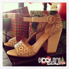 Bom Dia Koquinas! Gosta de salto bloco? Que tal assim? #koquini #sapatilhas #euquero #salto Compre online: http://koqu.in/II4Xc1