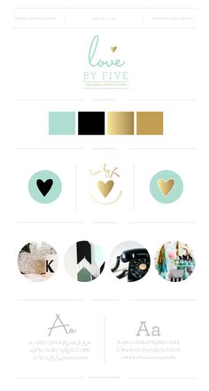 MISS POPPY DESIGN - Logo and Brand Design for Love by Five